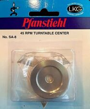 Pfanstiehl 45 RPM Aluminum Turntable Center For 45 Vinyl Records Spindle Adaptor