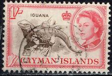 British Cayman Islands Fauna Iguana stamp 1950