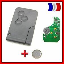 Card Key Blank + Electronics to Programmer Renault Mégane 2 Scénic 2 3 Button