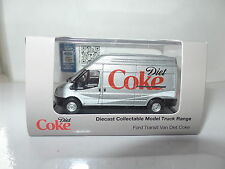 Oxford 76ft019cc FT019 1/76 OO Ford Transit DIÈTE coca cola coke script Argent