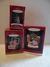 3 Hallmark Ornaments Welcome Sign, Sister To Sister & Hello Hello Friendship