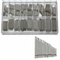 EG_ 360Pcs Stainless Steel Watch Band Spring Bars Strap Link Pins 8-25mm Repair