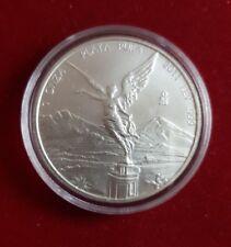 2011 Mexico Ley 999 Fine Silver, Libertad, 1 ONZA PLATA pura UNC