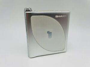 MD1834 working  SHARP PORTABLE MD PLAYER MD-DP700  Silver