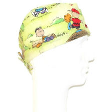 Peanuts Gang Snoopy Playing Baseball theme scrub hat