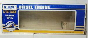 K-Line O/027 Gauge Dual Motor MP-15 Conrail Diesel Locomotive K-2225 Box Only