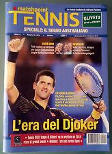 Matchpoint Tennis n.12 2014 Djokovic Rivista fondata da Adriano Panatta