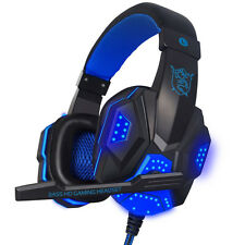 Best Sell Stereo Gaming Headset Wirh Mic &With USB& 3.5mm LED Interface for PC