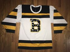 Boston Bruins Jersey CCM Maska Turn Back The Clock Rare Mens Small 1990s NHL