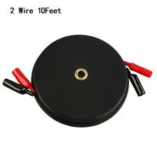 3 Wire Retractable Reel Test Leads With 18 Awg Test Alligator 10 Ft Universal