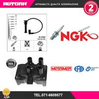 KIT84 4 cavi candela+bobina accensione Ford-Mazda-Volvo (MARCA ERA+NGK)