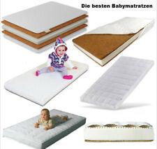 Babybett MATRATZE SCHAUMSTOFF Buchweizen Kokos MEDIZINISCHE 120x60cm