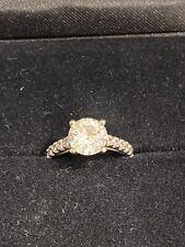 moissanite engagement ri 00004000 ng New listing 3 carat