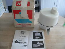 KENWOOD CHEF - Juice Separator A796 ( Fits A701, A701) Ex Condition.