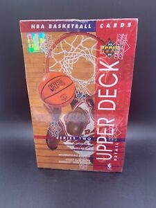 1993-94 Upper Deck Basketball Series 2 Retail Factory Sealed Wax Box