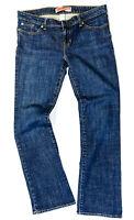 Gap Premium Womens Boot Cut Jeans Denim Blue Medium Wash Size 10 Rugular EUC