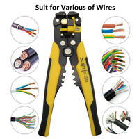 Cable Wire Stripper Cutter Crimper Automatic Multifunctional Pliers Electric 8""