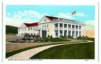 Early 1900s Northland Country Club, Duluth, MN Postcard