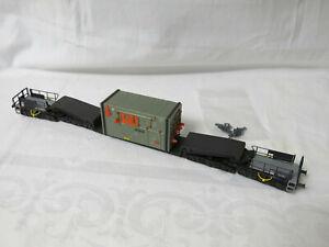 Kibri HO Krones DB Aggregat-Schwertransport 12achs. wie 16504 DC,AC,Uaais 819