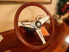 Mercedes Steering Wheel 560 SEC Wood Nardi EU DOT Spec Stronger Rim/Frame New