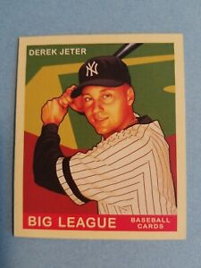 Derek Jeter New York Yankees 2007 Goudey #34 Baseball Card