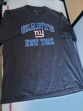 NFL Team Apparel New York Giants XL Grey Shirt