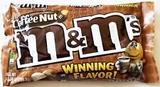 NEW Sealed Coffee Nut M&M's 9.60 oz Bag FREE WORLDWIDE SHIPPING