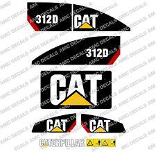 CAT CATERPILLAR 312D DECAL STICKER SET