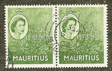 Elizabeth II (1952-Now) Used Mauritian Stamps