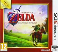 Jeu NINTENDO Selects 3DS - The Legend of Zelda : Ocarina of Time 3D - NEUF