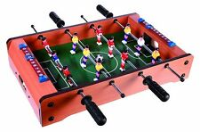Tischfussballspiel Fussballspiel Tischfussball Tisch Kicker Tischkicker 51x31 cm