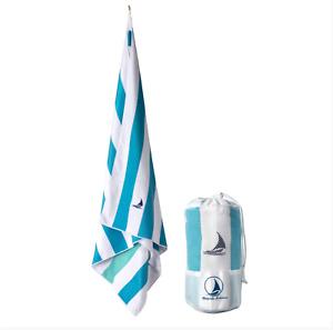 Microfiber Beach Towel XL - Cabana Style - Compact & Quick Dry Bath Towel