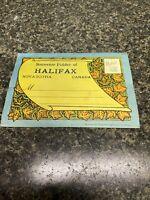 Vintage Souvenir Postcard Folder Halifax Nova Scotia Canada Unused.