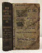 THE NEW HAMPSHIRE STATE DIRECTORY AND GAZETTEER FOR 1895 - Union Publishing Co.