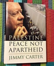President Jimmy Carter Signed Autographed Book Palestine Peace Not Apartheid #1
