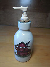 Home & Garden Party USA BIRDHOUSES 1999 Lotion Soft Soap Pump Dispenser
