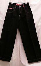 JNCO Jeans men time resistant denim black pants size 29 x 30 casual