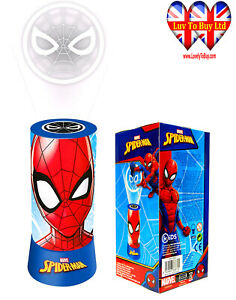 Spiderman Table/Desk Projector Lamp Night Light,Official Licenced