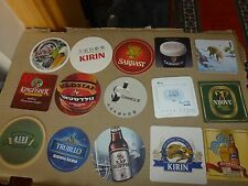 $.xx15 world OVERSEAS Beer coasters MIX+100 random selected coasters FREE! NR925