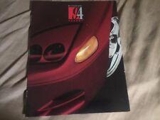 1994 Mitsubishi 3000GT USA Market Color Brochure Catalog Prospekt