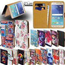 Flip Leather Card Wallet Stand Cover Phone Case For Samsung Galaxy J5 J6 J7 J8