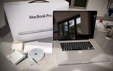 In scatola da 17 pollici Macbook Pro Core 2 DUO 4gb RAM 500GB HDD offerte accettate
