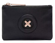 MIMCO Small Pouch Black Daydream Wallet Purse Clutch Rose Gold Bag BNWT RRP$70