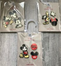 Disney Mickey and Minnie Mouse Junk Food Pin Set New Target NINE Pins