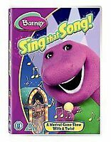 Barney - Sing That Song (DVD, 2006)