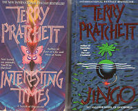 Complete Set Series - Lot of 41 Discworld books by Terry Pratchett Disc World