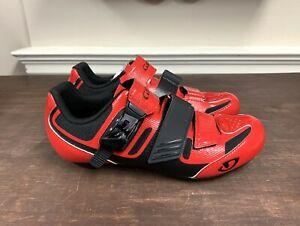 Giro Apeckx II Road Cycling Shoes Men's 41.5 EU / 8.5 US Bright Red