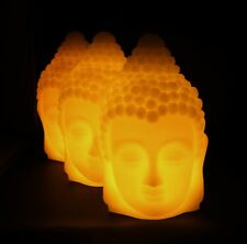 Buddha LED Flameless Wax Candle for Parties, Meditation, Treatment Rooms etc