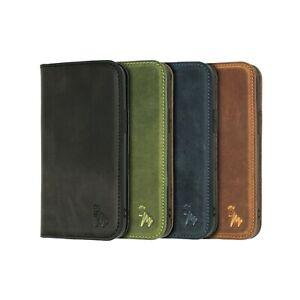 iPhone 12 Mini / iPhone 12 Pro Luxury Leather Wallet Flip Phone Case   Quagga