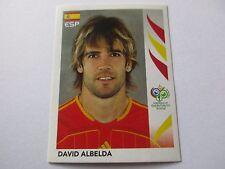 Sticker PANINI Fifa World Cup GERMANY 2006 N°539 Spain Espagne David Albelda